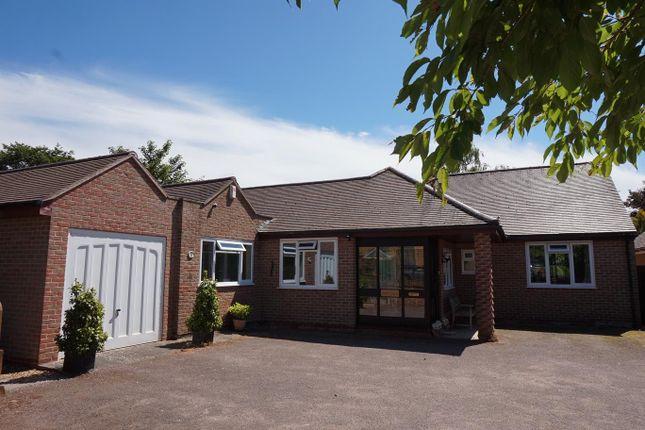 Thumbnail Detached bungalow for sale in Spring Lane, Wymondham, Melton Mowbray