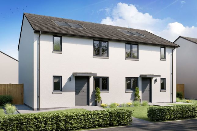 Thumbnail End terrace house for sale in Viscount Drive, Dalkeith