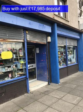 Thumbnail Retail premises for sale in Duncan Crescent, Dunfermline