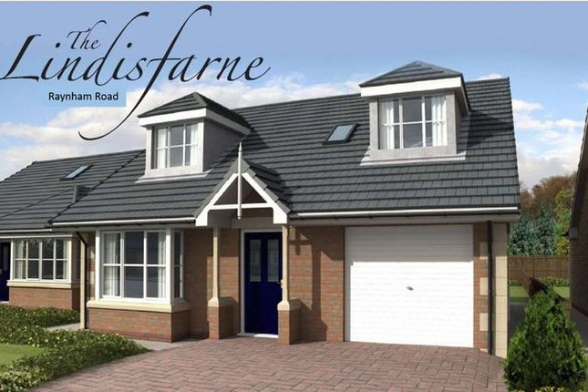 Thumbnail Detached bungalow for sale in Belford, Raynham Road, Plot 34, The Lindisfarne