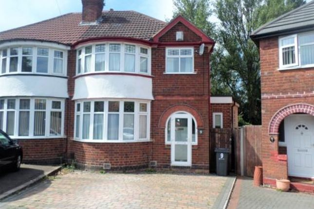 Thumbnail Semi-detached house for sale in Stonehaven Grove, Birmingham