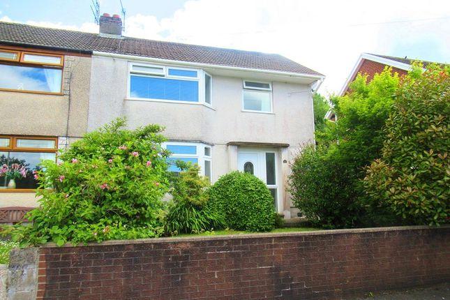 Thumbnail Semi-detached house for sale in Padleys Close, Maesteg, Bridgend.