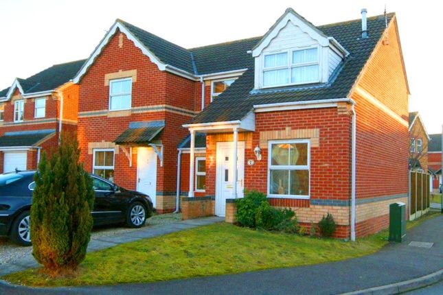 Thumbnail Semi-detached house for sale in Ripon Close, Bracebridge Heath, Lincoln