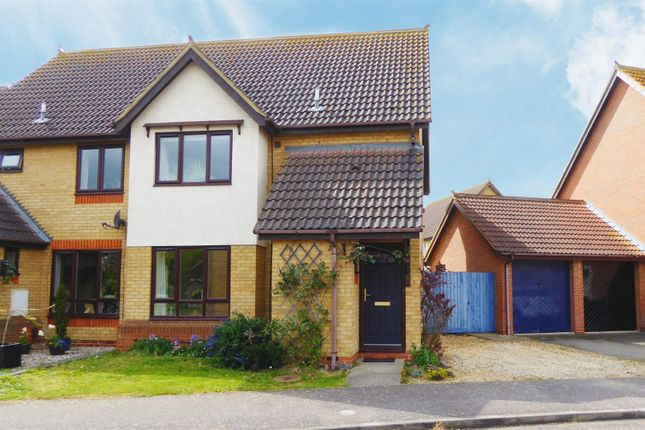 3 bed semi-detached house for sale in Swift Close, Sandy