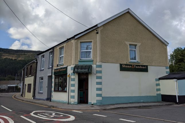 Thumbnail Restaurant/cafe to let in Commercial Road, Neath