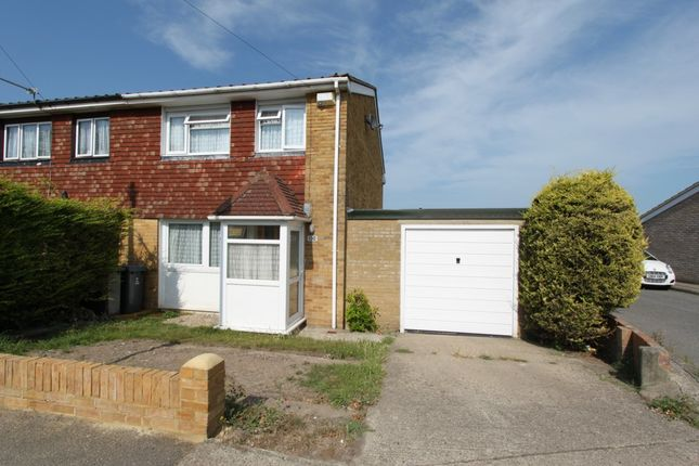Thumbnail End terrace house for sale in St. Richards Road, Walmer, Deal