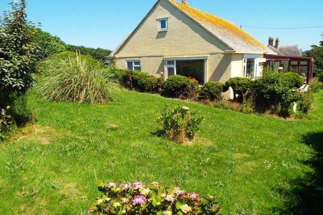 Thumbnail Detached bungalow for sale in Fourth Cliff Walk, West Bay, Bridport, Dorset