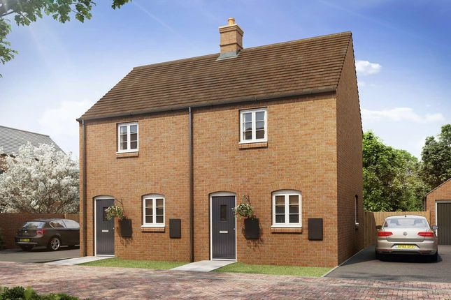 """2 bed semi-detached house for sale in """"The Ithon"""" at Heathencote, Towcester NN12"""