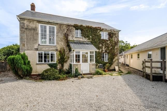 Thumbnail Detached house for sale in Gwinear, Hayle, Cornwall