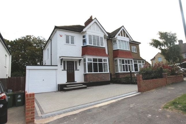 Thumbnail Semi-detached house for sale in Anglesey Court Road, Carshalton