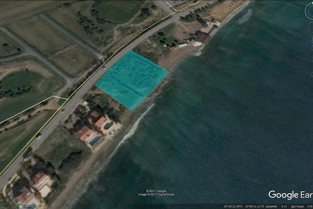 Thumbnail Land for sale in Seafront Land For Sale In İskele Bogaz, Bogaz, Cyprus
