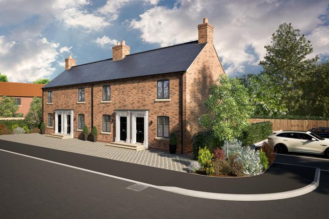 2 bed terraced house for sale in 25 Lychgate View, Old Leake, Boston PE22