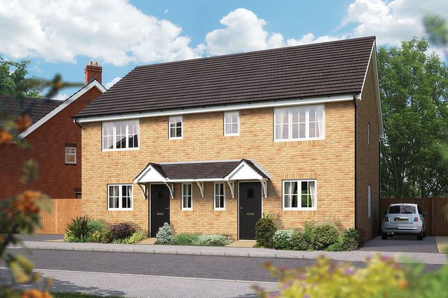 "Thumbnail Semi-detached house for sale in ""The Southwold"" at Campton Road, Shefford"