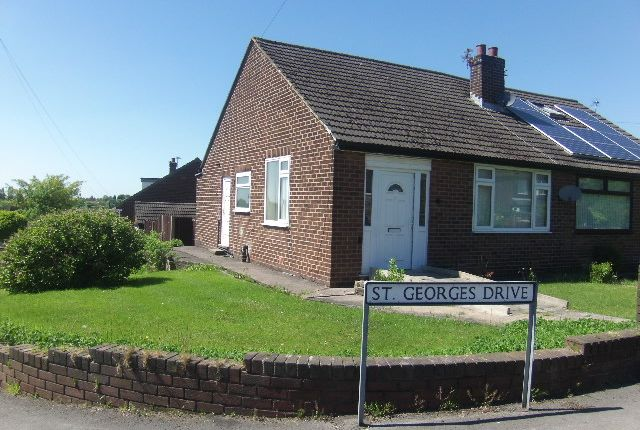 Thumbnail Semi-detached bungalow for sale in St George Drive, Hyde
