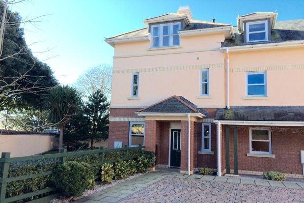 Thumbnail End terrace house to rent in Roundham Road, Paignton
