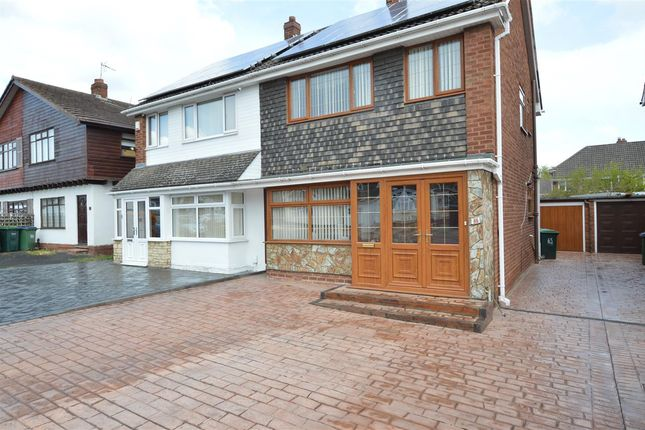 Thumbnail Semi-detached house for sale in Andrew Road, West Bromwich