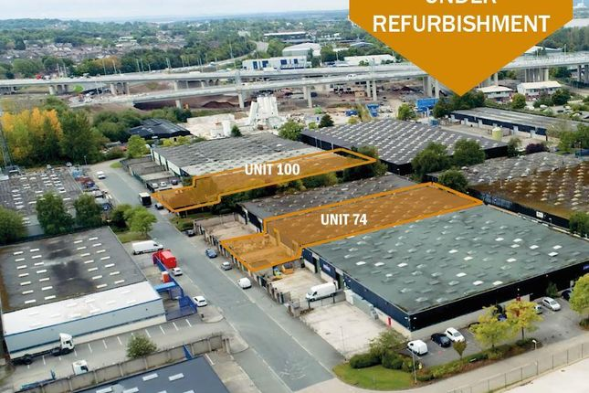Thumbnail Warehouse to let in Units 74 & 100 Brindley Road, Runcorn, Cheshire