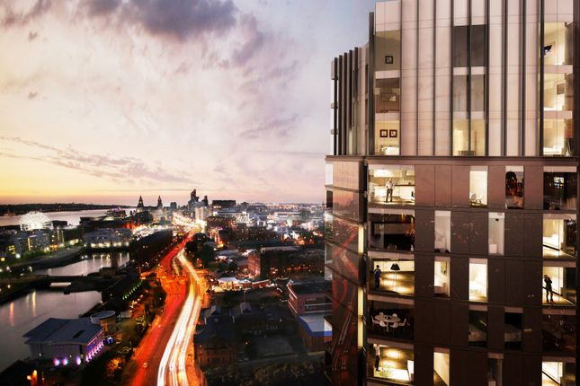 Thumbnail Flat for sale in Plaza Boulevard, Liverpool