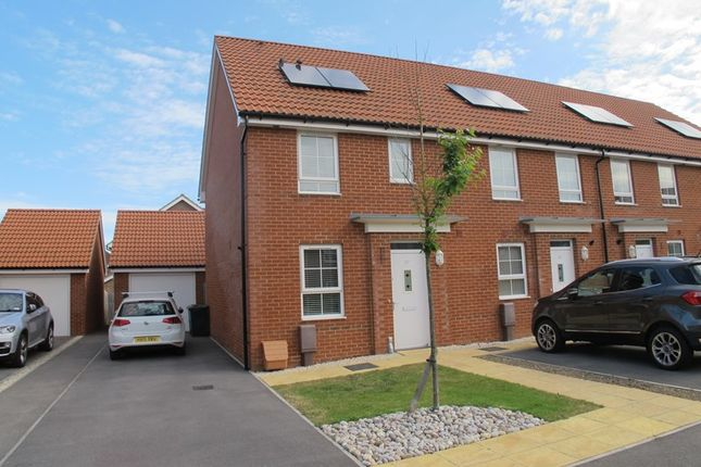 Thumbnail End terrace house to rent in Cockerell Close, Lee-On-The-Solent