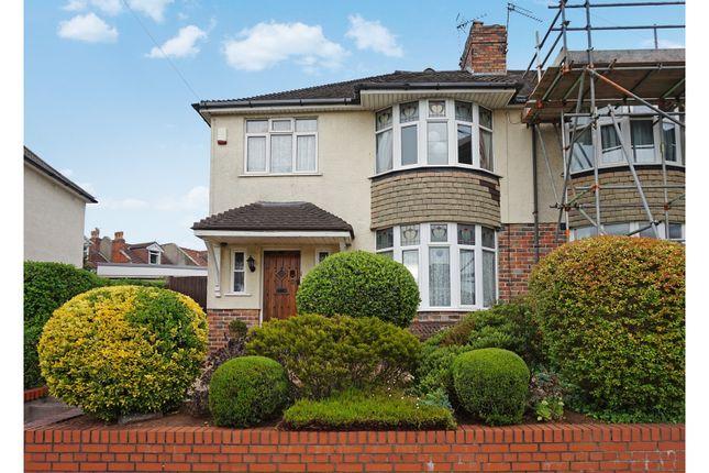 Thumbnail End terrace house for sale in Eagle Road, Brislington