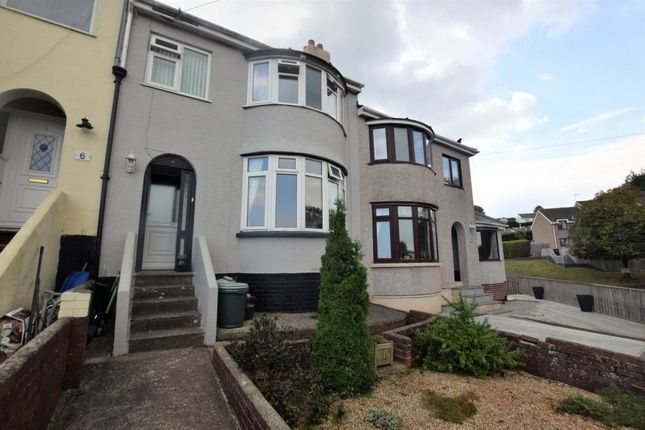 Thumbnail Terraced house for sale in Berry Avenue, Paignton, Devon