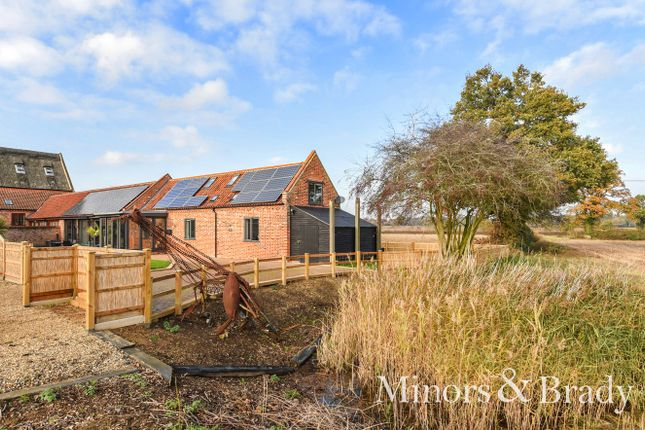Thumbnail Barn conversion for sale in Woodbastwick Road, Blofield, Norwich