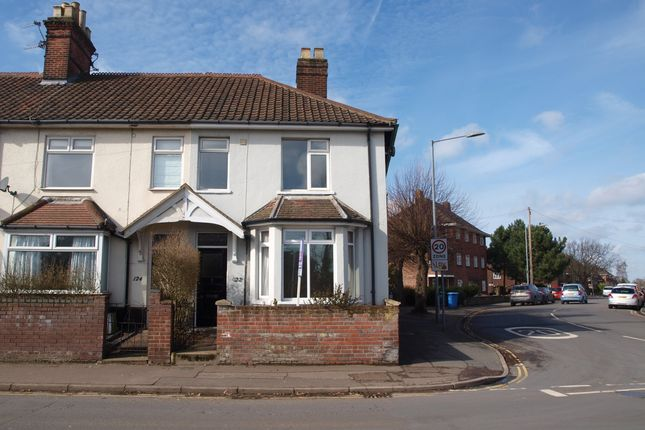 3 bed end terrace house to rent in Hall Road, Norwich