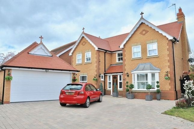 Thumbnail Detached house for sale in Prince Henrys Close, Greenhill, Evesham