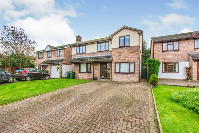 5 bed detached house for sale in Clos Tyclyd, Cardiff CF14
