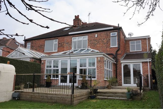 Thumbnail Semi-detached house for sale in South Avenue, Chellaston, Derby
