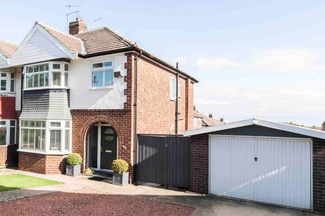 Thumbnail Semi-detached house for sale in Serpentine Road, Hartlepool
