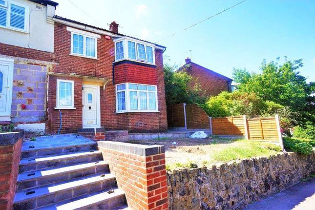 Thumbnail Semi-detached house to rent in Fairlead Road, Rochester, Kent