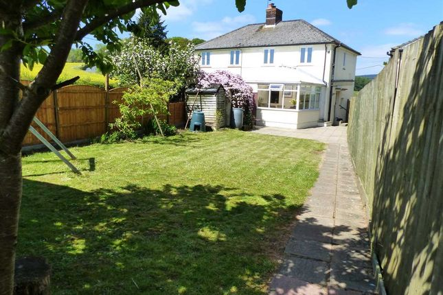 Thumbnail Semi-detached house to rent in Cop Hill, Itton, Chepstow