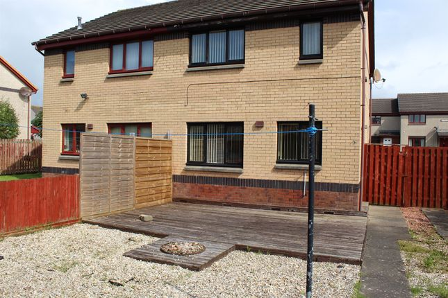 Thumbnail Semi-detached house for sale in Mcdonald Drive, Irvine