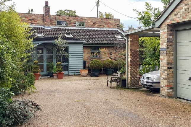 Thumbnail Detached bungalow for sale in Mill View, London Road, Great Chesterford, Saffron Walden