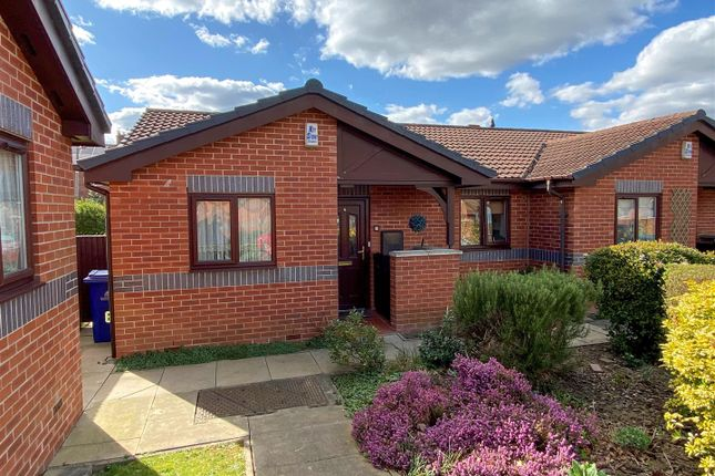 Thumbnail Semi-detached bungalow for sale in Tynedale Court, Kirk Sandall, Doncaster