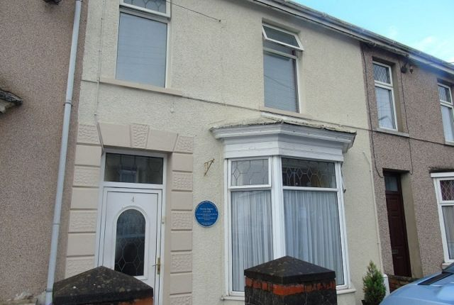 Thumbnail Terraced house to rent in New Road, Dafen, Llanelli