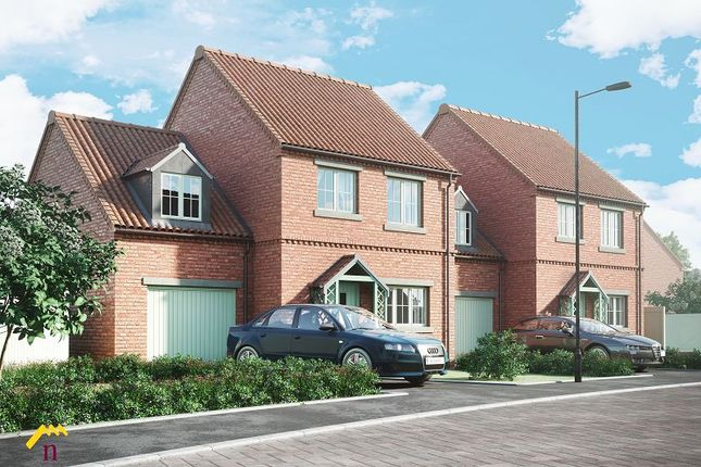 Thumbnail Link-detached house for sale in The Moorings, Off Of White Lane, Thorne