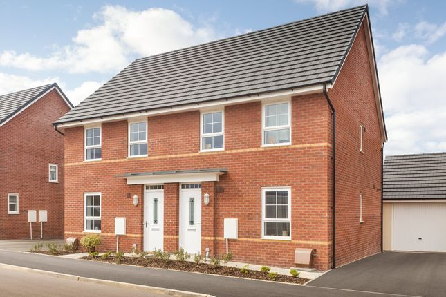 "Thumbnail End terrace house for sale in ""Finchley"" at Station Road, Methley, Leeds"