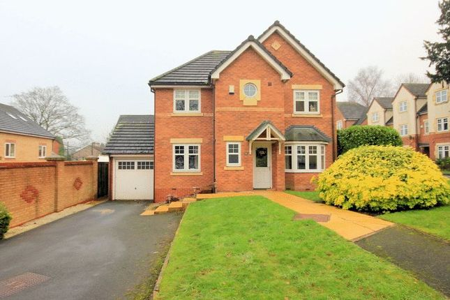 Thumbnail Detached house for sale in Treacle Row, Silverdale, Newcastle-Under-Lyme