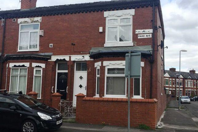 Thumbnail End terrace house for sale in Parkdale Avenue, Gorton, Manchester