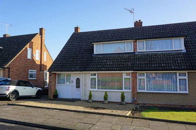 Thumbnail Semi-detached house for sale in Harkness Way, Hitchin