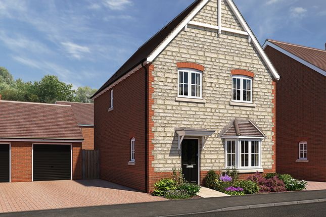 "Thumbnail Detached house for sale in ""The Ashby 2"" at The Ridge, Blunsdon, Swindon"