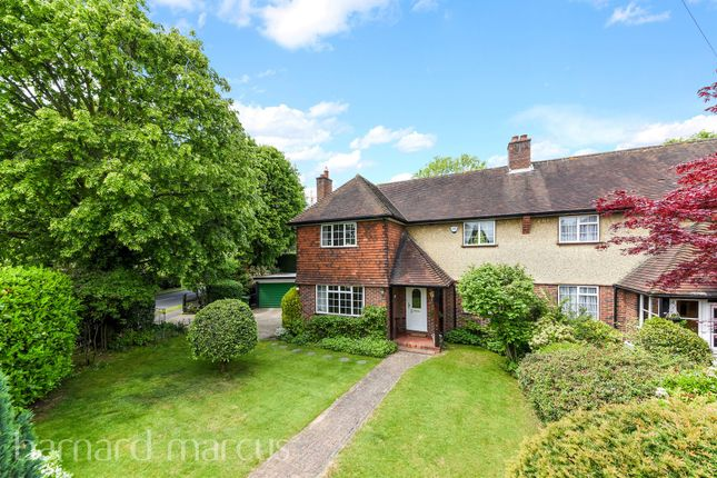 Thumbnail Semi-detached house for sale in Manor Green Road, Epsom