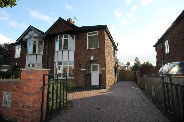 Thumbnail Semi-detached house for sale in Boundary Road, Newark, Nottinghamshire.