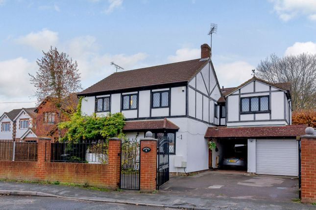 Thumbnail Detached house for sale in Common Lane, New Haw, Addlestone