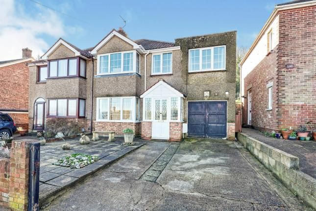 Thumbnail Semi-detached house for sale in Eaves Road, Dover, Kent