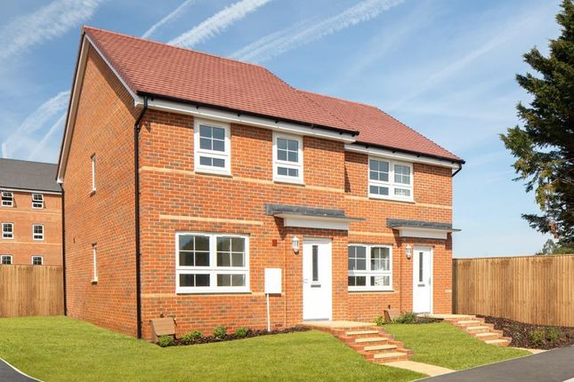 "Thumbnail Semi-detached house for sale in ""Maidstone"" at Lake Road, Hamworthy, Poole"