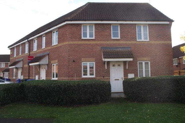 Thumbnail 2 bed maisonette to rent in Rose Close, Chellaston, Derby
