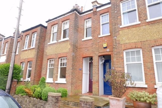 Thumbnail Terraced house to rent in Buckhurst Avenue, Sevenoaks